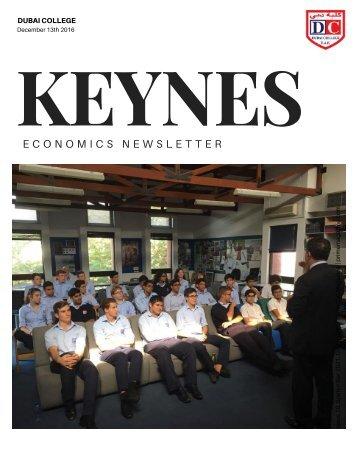 Keynes Newsletter