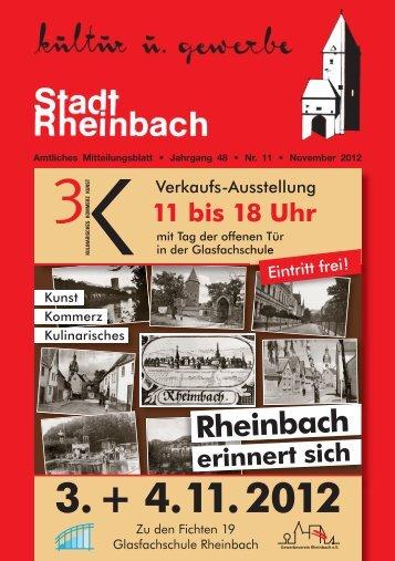 November 2012 - Rheinbach