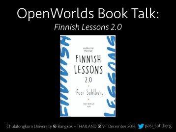 OpenWorlds Book Talk