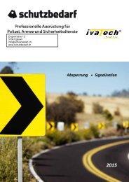 DE-Katalog Absperrung Signalisation