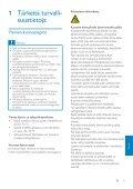 Philips GoGEAR Baladeur vidéo MP3 - Mode d'emploi - FIN - Page 4