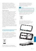 Philips GoGEAR Baladeur vidéo MP3 - Mode d'emploi - FIN - Page 6