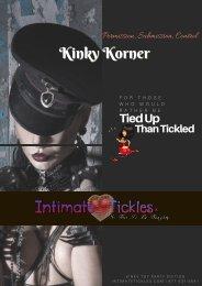 2017 Kinky Korner Adult Romance Party Katalog