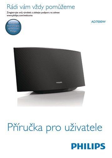 Philips Fidelio Enceinte sans fil SoundAvia - Mode d'emploi - CES
