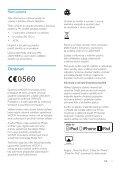 Philips Fidelio Enceinte sans fil SoundAvia - Mode d'emploi - CES - Page 5