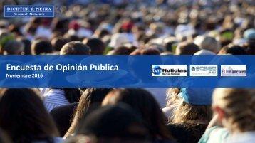 Encuesta de Opinión Pública