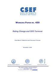 WORKING PAPER 459