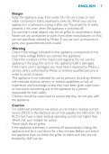 Philips SalonDry Control Sèche-cheveux - Mode d'emploi - MSA - Page 7