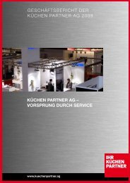 KÜCHEN PARTNER AG – VORSPRUNG DURCH SERVICE ...