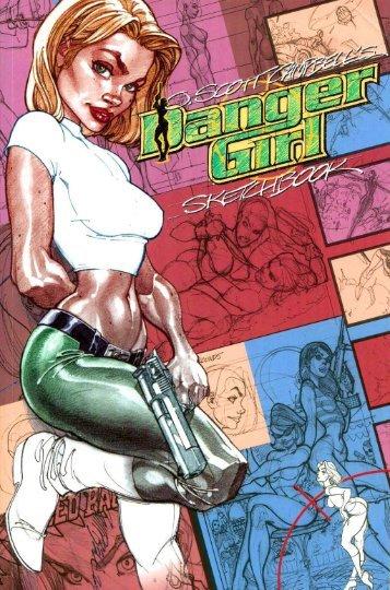 J. Scott Cambell - Danger Girl Sketchbook