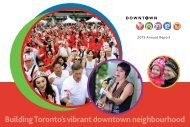 Building Toronto's vibrant downtown neighbourhood