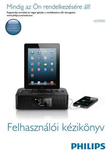 Philips Station d'accueil pour iPod/iPhone/iPad - Mode d'emploi - HUN