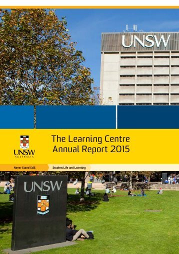 The Learning Centre Annual Report 2015
