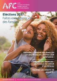 Elections 2017 Faites entendre la voix des familles