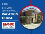 Thinking of Buying a Vacation House? Don't miss to read these Tips!