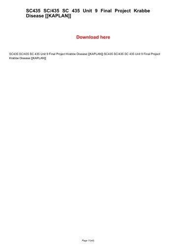 MGT 435 Organizational Change – Final Paper