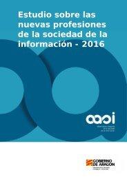 Estudio sobre las nuevas profesiones de la sociedad de la información - 2016