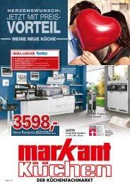 Herzenswunsch: Meine neue Küche - jetzt mit Preisvorteil bei Markant Küchenfachmarkt in Wanne Eickel