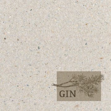 Sonnenhof Gin Karte