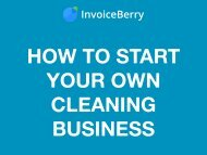 How to Start Your Own Cleaning Business