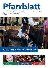 2016-11 Pfarrblatt Freiburg