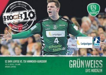 GRÜNWEISS – das Magazin der DHfK-Handballer – Heft 09 – Saison 2016/17