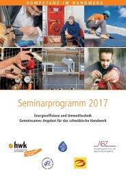 Seminarprogramm 2017_Energieeffizienz und Umwelttechnik