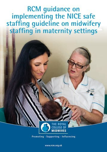 staffing guideline on midwifery staffing in maternity settings