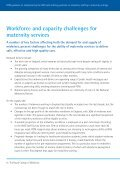 staffing guideline on midwifery staffing in maternity settings - Page 6