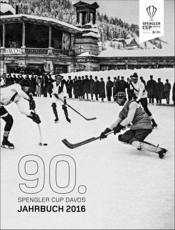 90. Spengler Cup Davos - Jahrbuch 2016 (20-er Jahre)