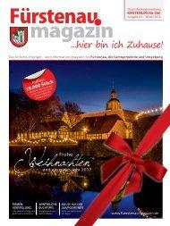 Fürstenau-Magazin Weihnachten / Winter 2016