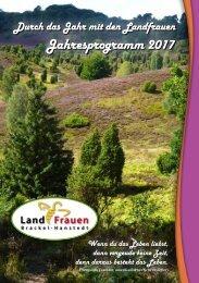 Landfrauen Brackel-Hanstedt - Programm 2017