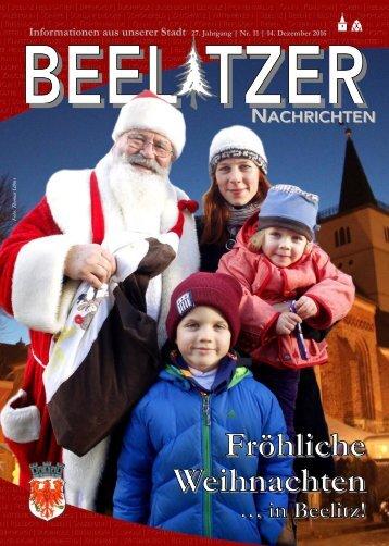 Beelitzer Nachrichten - Dezember 2016