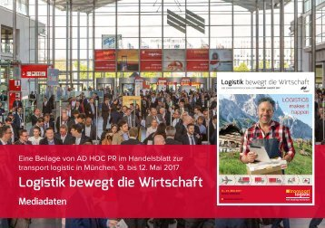 Mediadaten Handelsblattbeilage transport logistik 2017