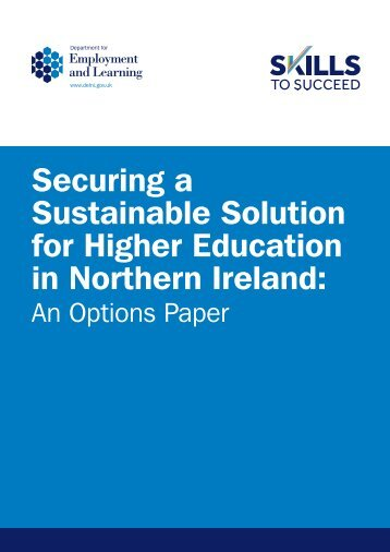 Sustainable Solution for Higher Education in Northern Ireland
