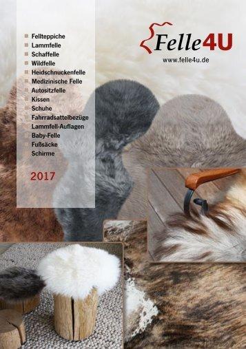 Felle4U.de - Katalog 2017