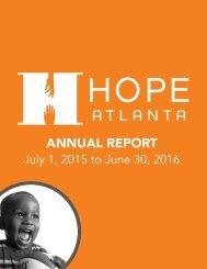 HOPE Atlanta Annual Report