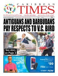Caribbean Times 54th Issue - Monday 12th December 2016
