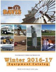Davis Winter Catalog 2016-17