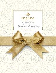 Degussa Luxus Weihnachtsbeileger 2016
