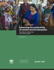 Enhancing the productivity of women-owned enterprises