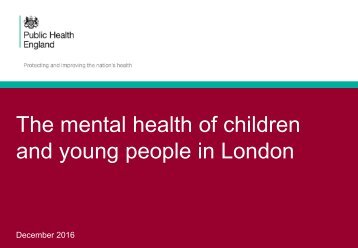 and young people in London