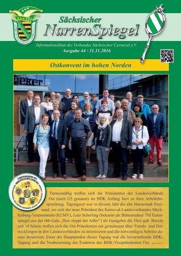 Sächsischer Narrenspiegel - Ausgabe 44