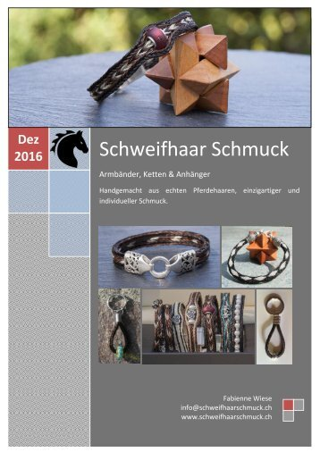 Schweifhaarschmuck DEZ 16