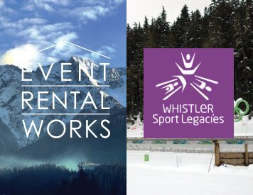 Whistler sport legacies and Event Rental Works