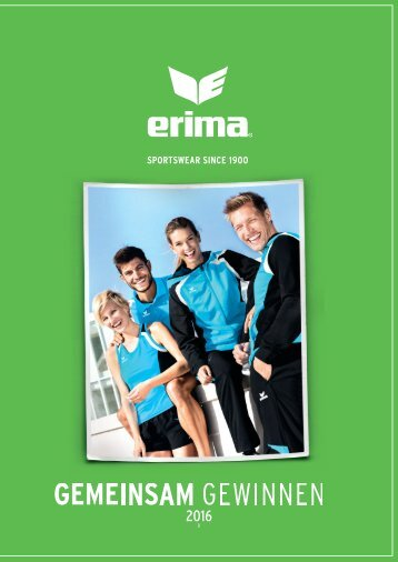 ERIMA-Gesamtkatalog 2016