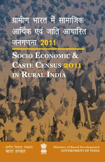 Sensus Booklet Inside option 27-07-2011.indd - Ministry of Rural ...