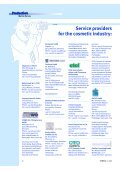 Adressliste Dienstleister International - COSSMA - Page 5
