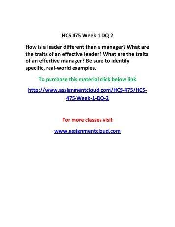 hcs 457 week 2 dqs .