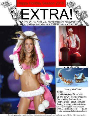 EXTRA! Nov and Dec 2016 Holidays Issue 6